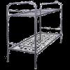 Кровать для рабочих металлическая двухъярусная 1930x710x1530 мм