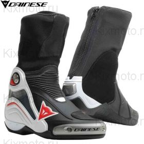 Мотоботы Dainese Axial D1, Black/White/Red