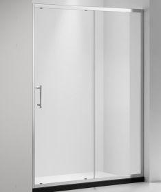 Душевая дверь Oporto Shower A-56 130x185 см прозрачное стекло