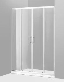 Душевая дверь Oporto Shower A-57 150x185 см прозрачное стекло