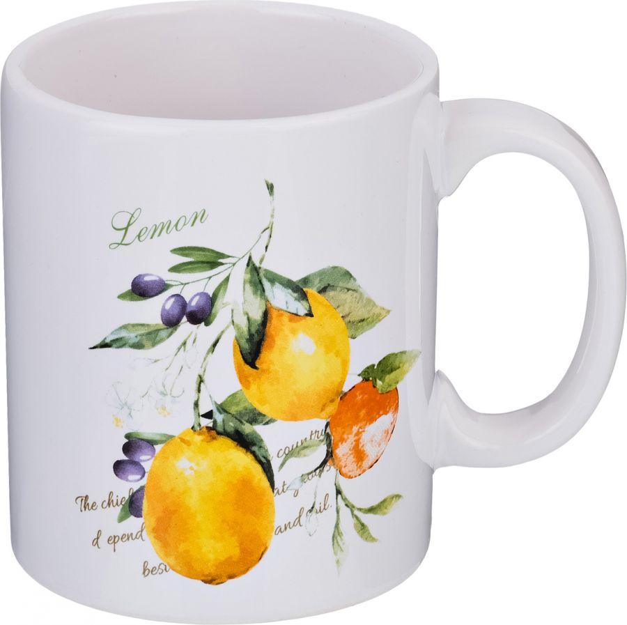 """Кружка """"Итальянские лимоны"""" 350 мл."""