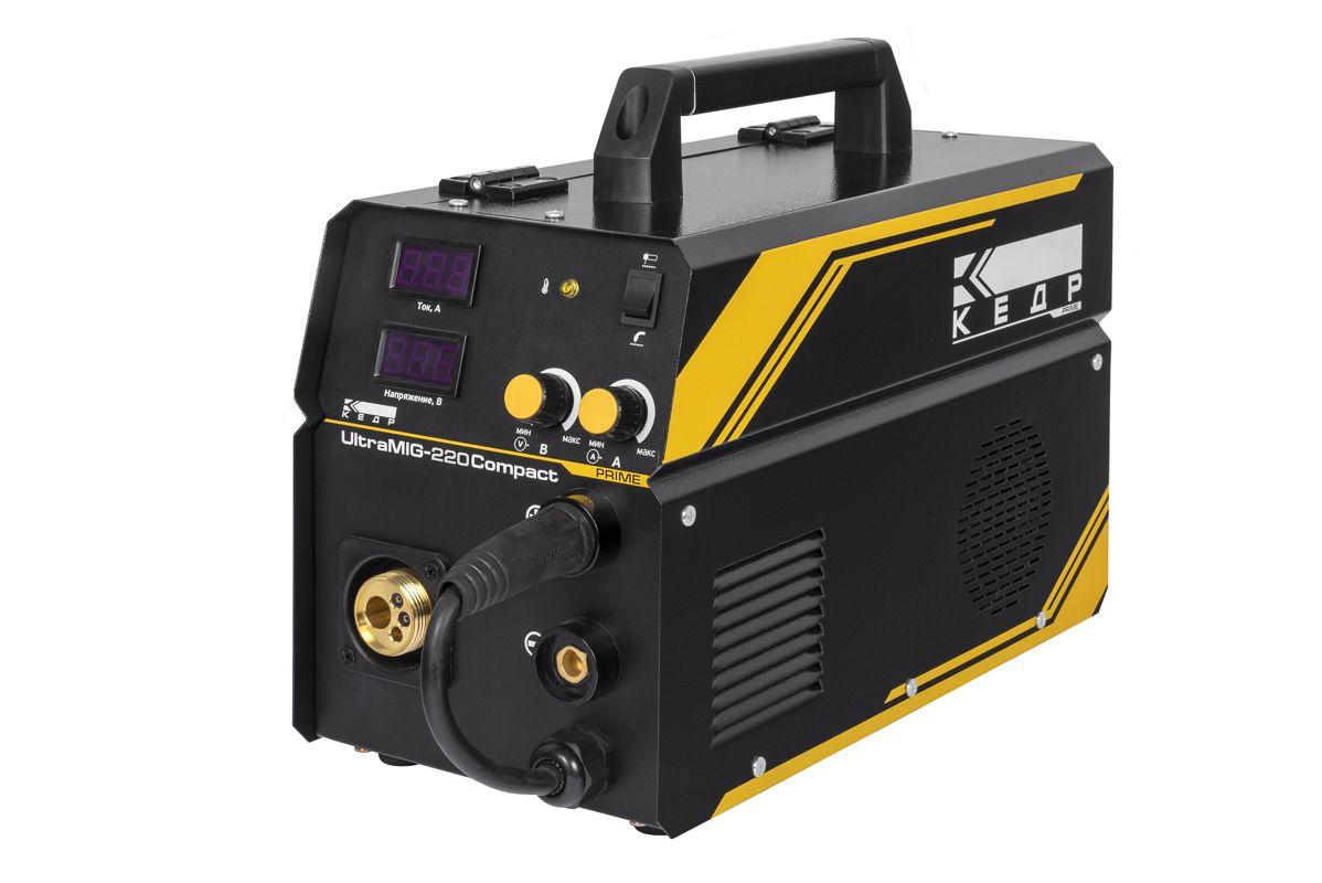Полуавтомат КЕДР UltraMIG-220 Compact (220В, 40-220А)