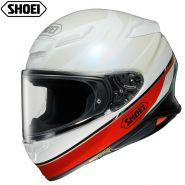 Шлем Shoei NXR2 Nocturne, Бело-красный
