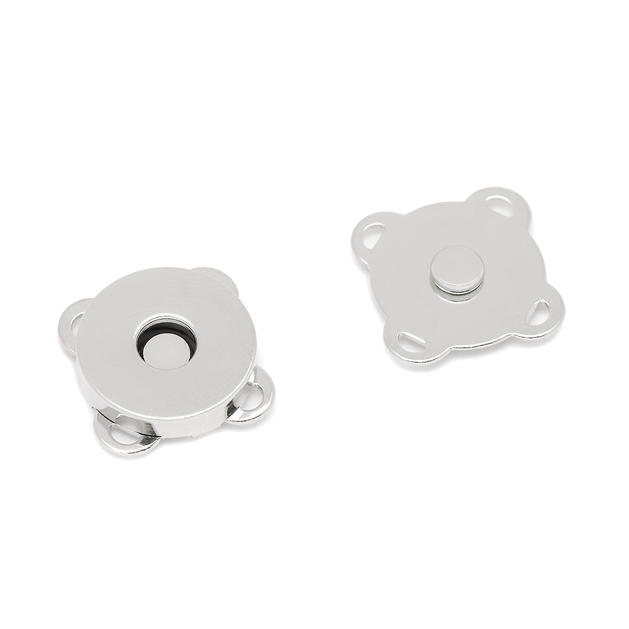 Кнопка магнитная пришивная 18 мм никель