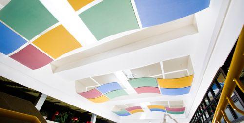 Потолочная плита Optima Canopy — Convex (2) 1170x1040x30