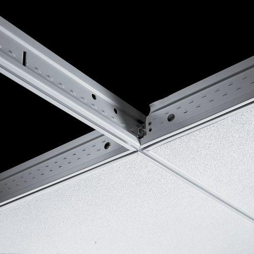Поперечная рейка Silhouette 15XL 1200x44 мм (каркас белый) с черной щелью 6 мм