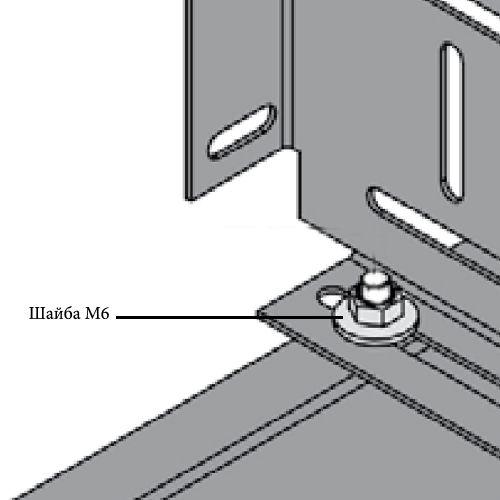 Шайба М6 18x1,6 мм (в коробке 100 шт)