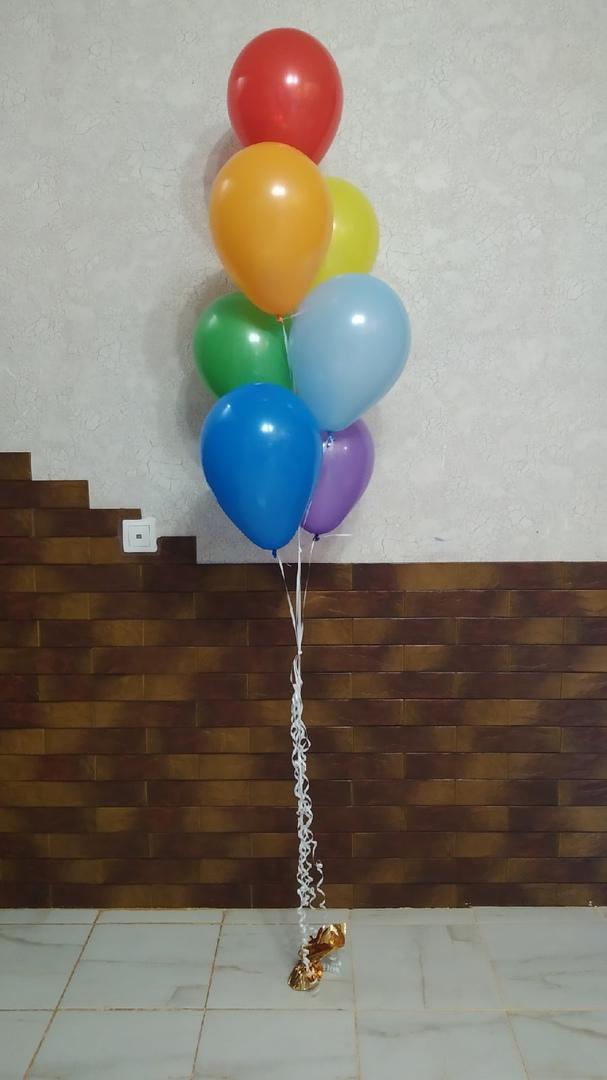 Фонтан из 7 МИНИ шаров