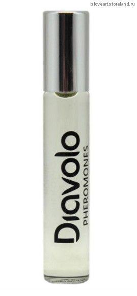 """Ароматное эфирное масло для мужчин с феромонами """"Diavolo""""  Private Dance, 8мл."""