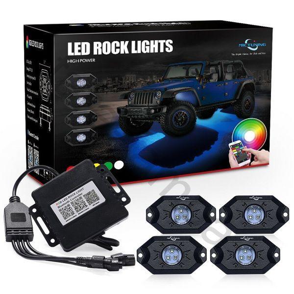 Подсветка днища автомобиля MUD LIGHT MONSTER 4 ламп
