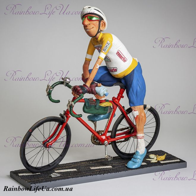 """Фигурка Велосипедист 85550 """"The Cyclist. Forchino"""""""
