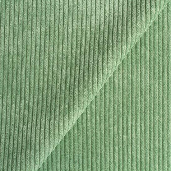 Вельвет в рубчик - зеленый 50*50 см.