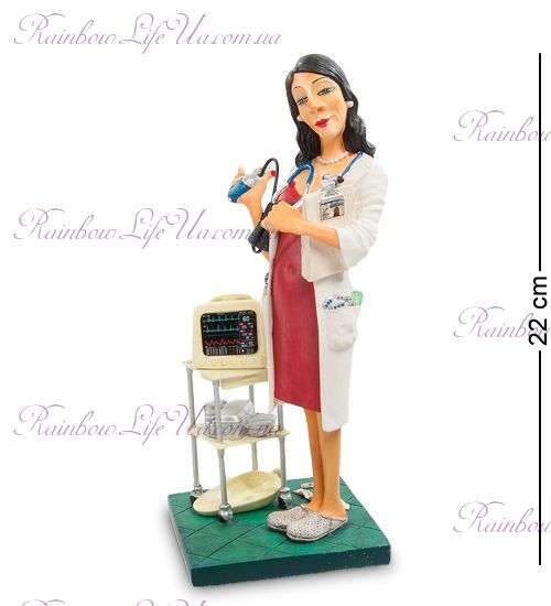 "Статуэтка леди доктор 84006 ""Madam Doctor. Forchino"""