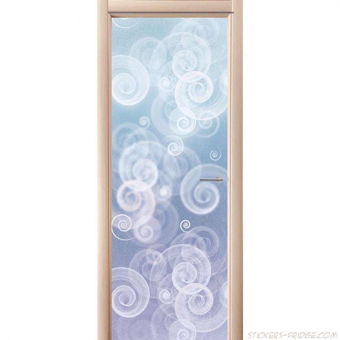 Наклейка на дверь - Виражи