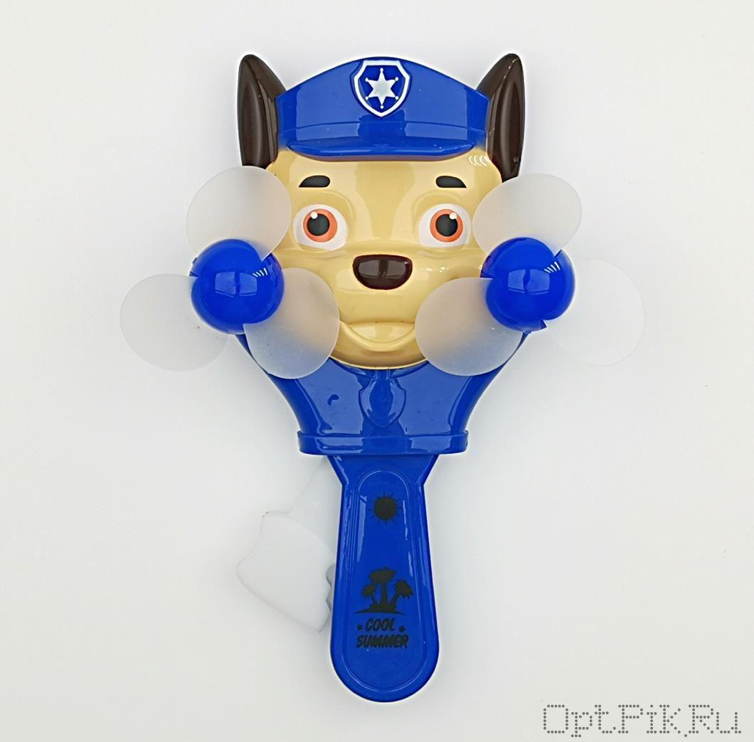 Ручной тренажёр эспандер детский вентилятор Щенячий патруль