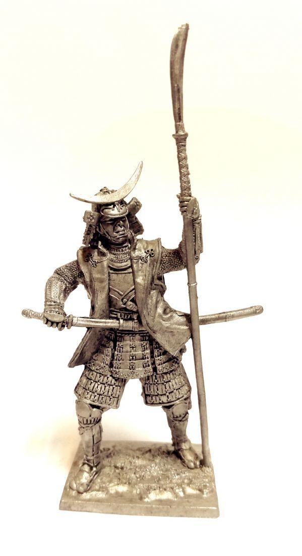 Фигурка Самурай с нагината  1600 г. олово