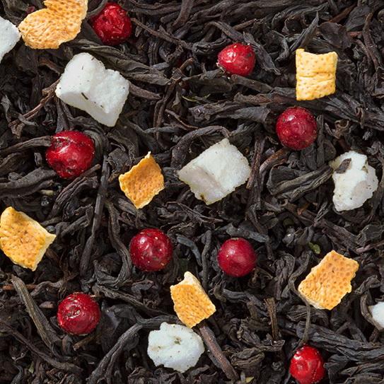 Вечерний - черный чай с натуральными добавками