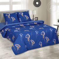 «Каллы» (DE LUXE) постельное белье Поплин 2-х спальный