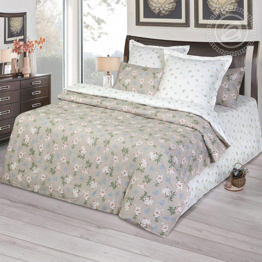 «Клара» постельное белье Сатин 2-х спальный с евро