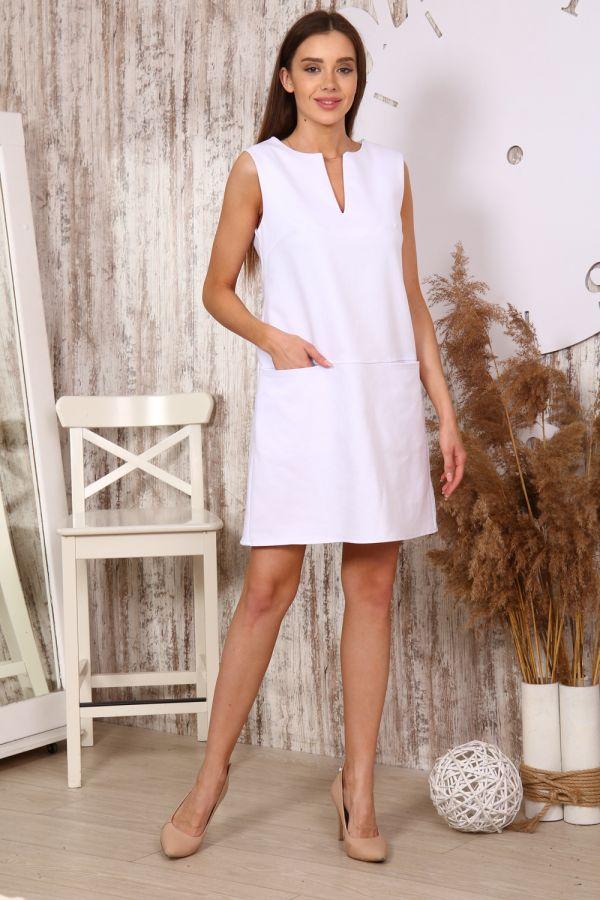 Платье 10397 [белый]
