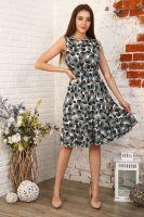 Платье 35021 [цветы]