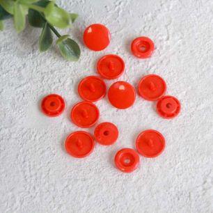 Кнопки пластиковые - Красные, 12 мм