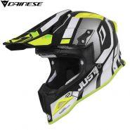 Шлем Just1 J12 Vector, White/Yellow
