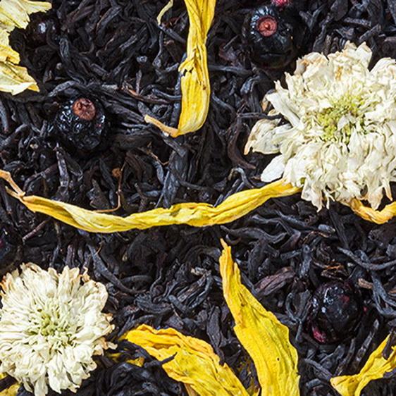 Дмитрий Донской - черный чай с натуральными добавками