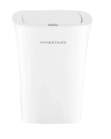 Ведро Xiaomi Ninestars Waterproof Sensor Trash Can (DZT-10-11S), 10 л белый