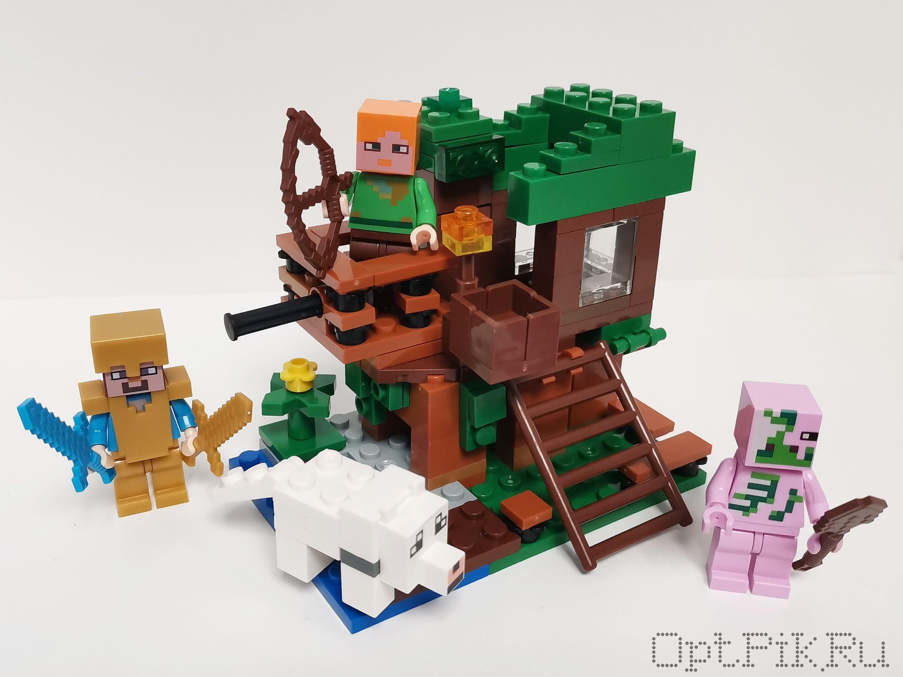 Конструктор Домик на дереве Майнкрафт Minecraft