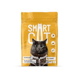 Сухой корм для кошек Smart Cat с курицей 5 кг