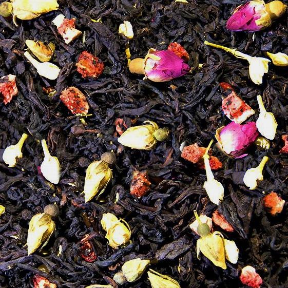 Королева Марго - черный чай с натуральными добавками