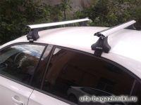 Багажник на крышу Skoda Octavia A8, Атлант, крыловидные дуги, опора Е