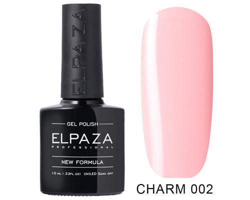 ELPAZA ГЕЛЬ-ЛАК  Charm 002  Балерина (Светло-розовый)  10 мл