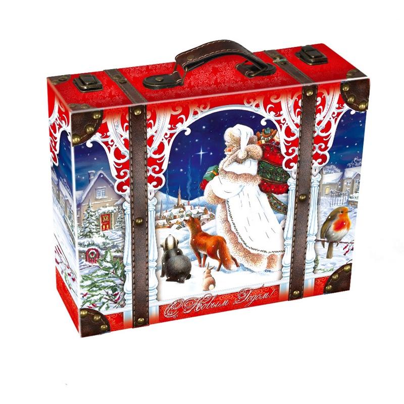 Чемодан Владения Деда Мороза  2000 грамм