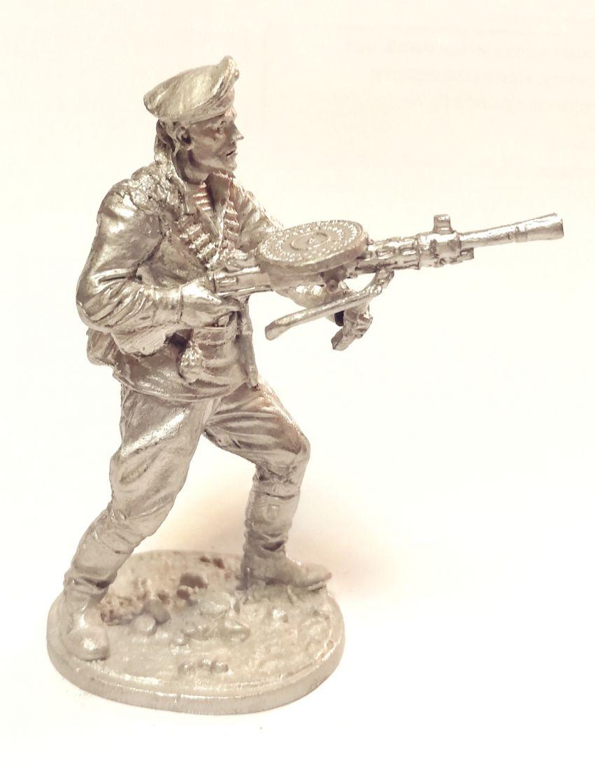 Фигурка Краснофлотец морской пехоты олово