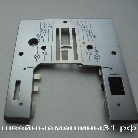 Игольная пластина после ремонта для JANOME SE 518, 522, JEM GOLD  и др.(старая модификация)     Цена : 800 руб.