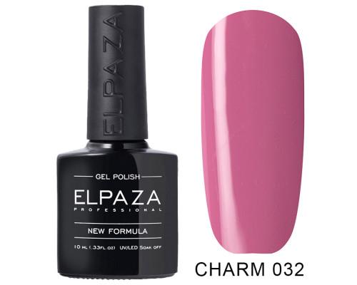 ELPAZA ГЕЛЬ-ЛАК  Charm 032  Розовый кварц (Розово-малиновый)10 мл