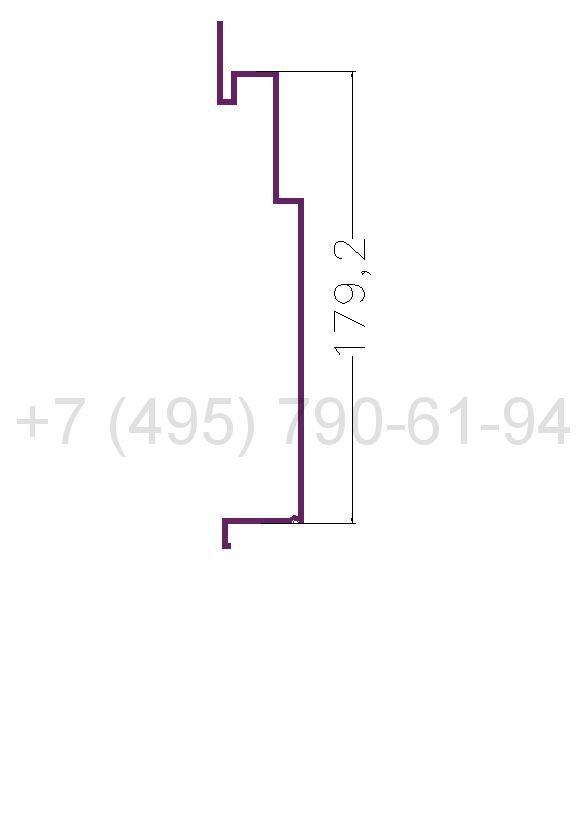 RD 1 Рейка алюминиевая (6,0) RAL