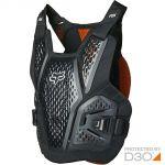 Fox Raceframe Impact SB CE D3O Black жилет защитный