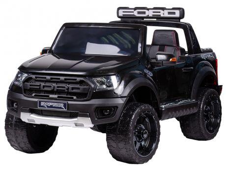 Джип FORD RAPTOR Детский электромобиль (2021) DK-F150R чёрный