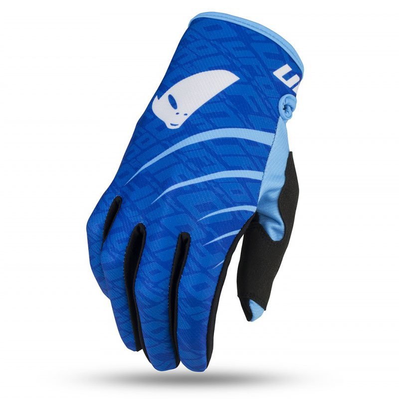 UFO Skill Indium Glove Light Blue перчатки для мотокросса, синие