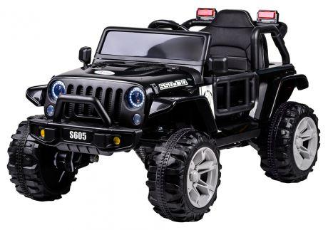 Джип электромобиль 4 WD (2021) TR702 чёрный