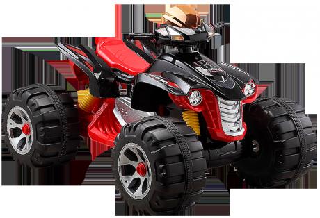 Детский электромобиль JS318 (12V, колесо пластик) красный