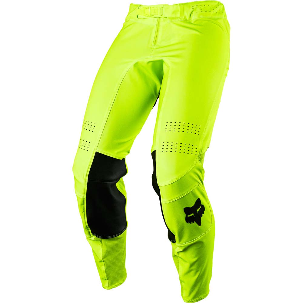 Fox Flexair Psycosis Flo Yellow штаны для мотокросса