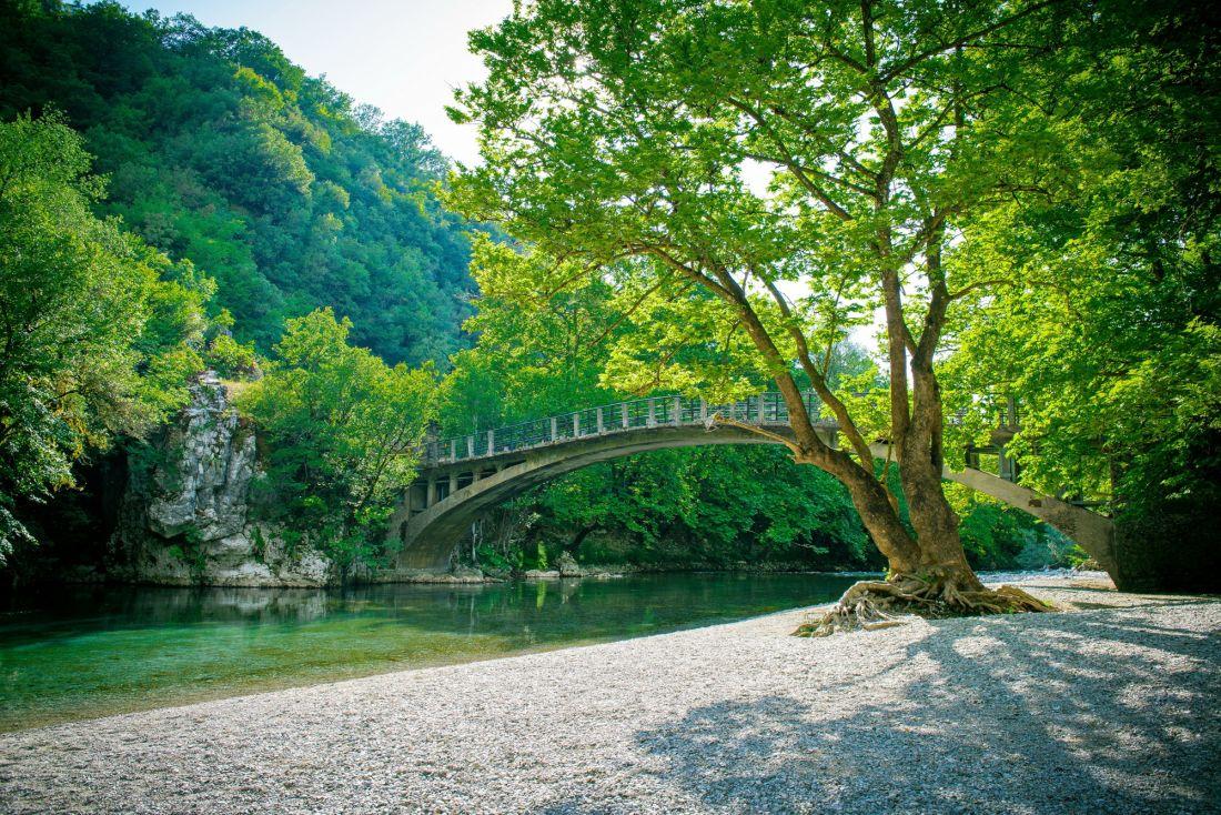 Мост через речку 16-034