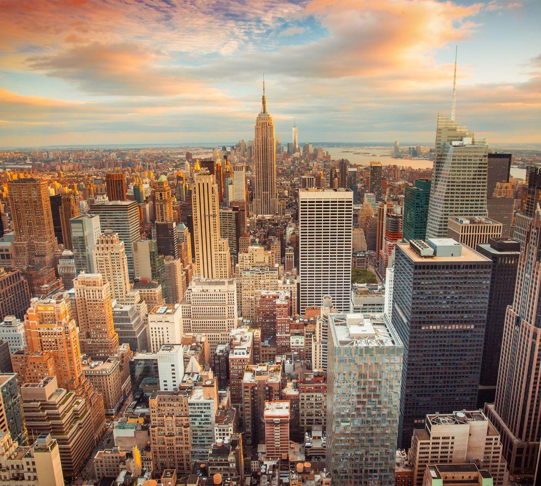 Нью-Йорк Манхэттен 2098-ML