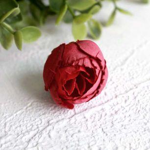 """Цветок """"Пион"""" 2,5 см., алый"""