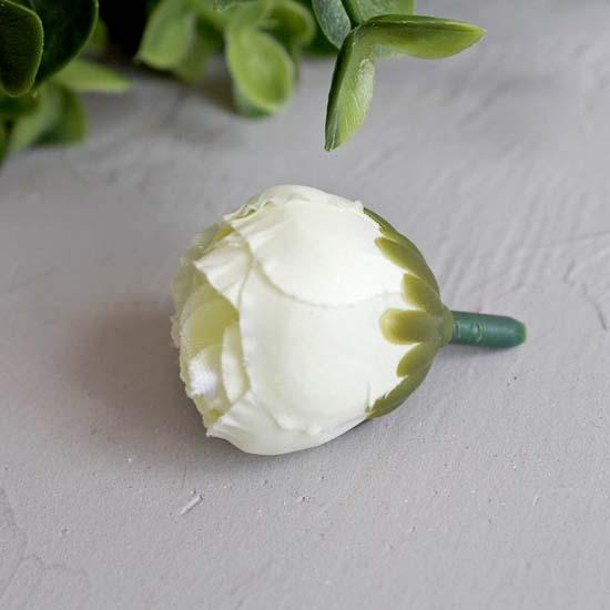 """Цветок """"Пион"""" 2,5 см., молочный"""