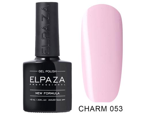 ELPAZA ГЕЛЬ-ЛАК  Charm 053  Нежный пион (Светлый лилово-розовый)  10 мл